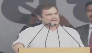 Rahul Gandhi Slams PM Modi In Bharat Bachao Rally Delhi - Sakshi