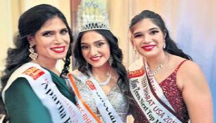 Mother And Daughters Wins Miss India USA 2019 - Sakshi