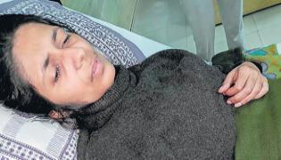 DCW chief Swati Maliwal falls unconscious - Sakshi