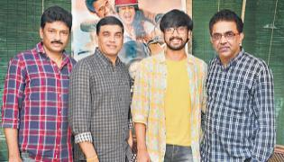 Producer Dil Raju at Iddari Lokam Okate movie - Sakshi