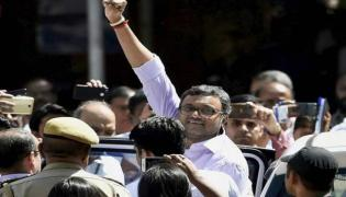 Congress MP Karti Chidambaram Responds Encounter Killing Of Disha Accused - Sakshi