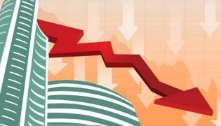 Markets slips furhter, down above 400 points - Sakshi