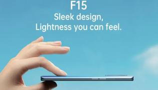 Oppo F15 With Quad Rear Cameras VOOC Fast Charging  - Sakshi