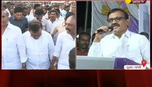 YSRCP MLC Iqbal Speche At Supporting To Three Capitals Rally - Sakshi