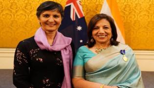 Kiran Mazumdar Shaw bestowed with Australia's highest civilian honour - Sakshi