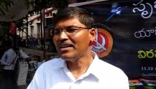 Police Raids On Virasam State Secretary Professor Khasim House - Sakshi