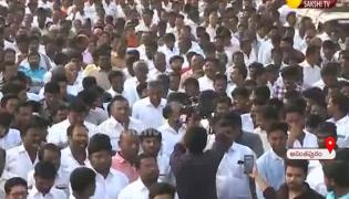 Rally Support To Decentralization in Anantapur