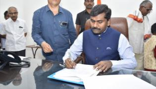 Anantapur Collector Has Made His Mark In Reign Of Gandham Chandrudu - Sakshi