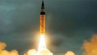 India Successfully Test Fires Nuclear Capable K Four Ballistic Missile - Sakshi