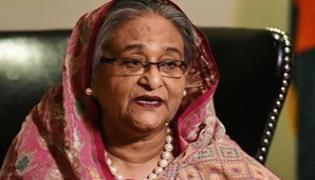 Bangladesh Prime Minister Sheikh Hasina Says Citizenship Law Unnecessary - Sakshi