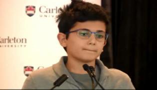Ryan Pourjam Speech About His Father Killed In Iran Plane Crash - Sakshi