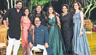 Rebel Star Krishnam Raju birthday celebrations - Sakshi