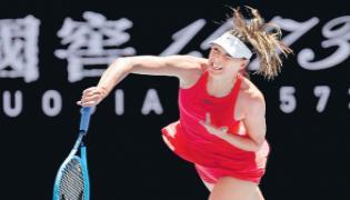 Maria Sharapova Exit At The Third Grand Slam Tournament - Sakshi