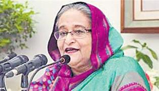 What Is The Intention Of Bangla PM Hasina Over CAA - Sakshi