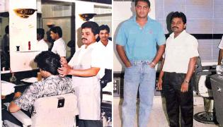 Barber Narayana Training in Hairstylist to Unemployed Youth - Sakshi