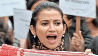 Anti-CAA Protests : Thousands of Warrior Mula Gabhoru in Assam - Sakshi