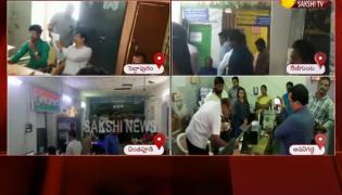 ACB Raids On Tahsildar Offices In AP - Sakshi