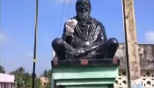 Periyar Statue Vandalised Near Chengalpattu in Tamil Nadu - Sakshi