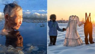 Siberia Hits Its Coldest Temperatures Of The Winter - Sakshi