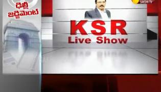 KSR Live Show On Income Tax Raids