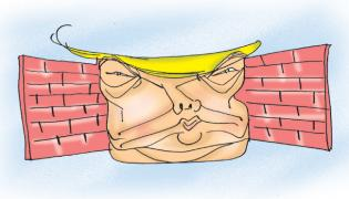 ABK Prasad Article On Wall Construction To Hide Slums Ahead Of Trump Ahmedabad Visit - Sakshi