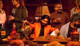 Dhanush Latest Movie Jagame Thanthiram Motion Poster Released - Sakshi