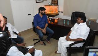 Puvvada Ajay Kumar Condoles Actor Srikanth Father Demise - Sakshi