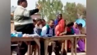 UP School Principal Arrested Over Tips To Students How To Cheat In Exams - Sakshi