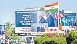 President Trump likely to be offered Trump platter at Bukhara - Sakshi