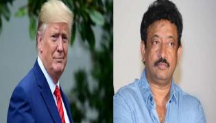 Ram Gopal varma Satirical Tweets On Trump India Visit - Sakshi