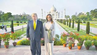 Taj Mahal The Monument of Love Says Donald Trump - Sakshi