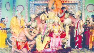 Ramayana Launched On Doordarshan Channel - Sakshi