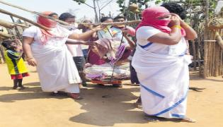 There are no emergency medical services available for tribal areas with lockdown - Sakshi