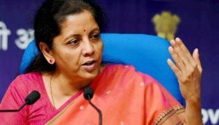 Nirmala Sitharaman Says All Banks Ensuring Branches Open   - Sakshi