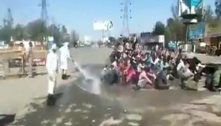 Priyanka Gandhi Slams Disinfectant Sprayed On Migrants