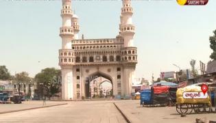 Charminar During Lock Down In Hyderabad
