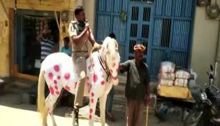 Kurnool Police Awareness on Corona Virus in Public