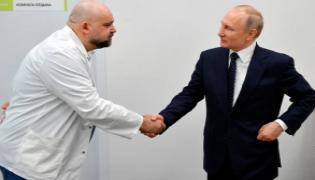 Doctor Who Met Putin Got Coronavirus Positive In Moscow - Sakshi