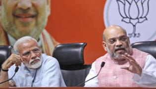 PM Modi And Amit Shah Video Conference With CMs - Sakshi