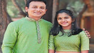 Unnikrishnan And His Daughter Song Viral on Social Media - Sakshi