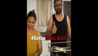 Sukumar Completed Be The Real Man Challenge