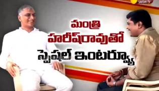 Special Interview With Telangana Minister Harish Rao