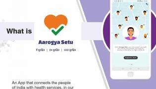 Corona: Central Government Launch Aarogya Setu App - Sakshi