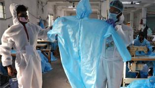 Doctors Protest Against Corona Virus Safety - Sakshi