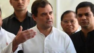 Shining Torches in The Sky Not Solve the Problem: Rahul Gandhi - Sakshi
