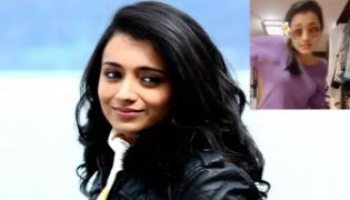 Amid Lockdown Leisure Actress Trisha Krishnan Tik Tok Video - Sakshi