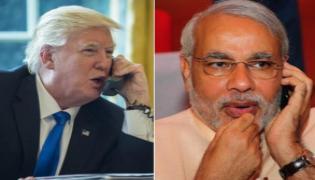 CoronaCrisis: Narendra Modi Telephone Conversation With Donald Trump - Sakshi