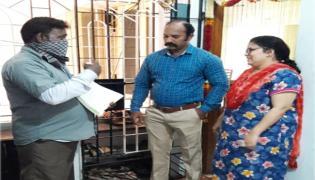 Chennai Corporation Staff Home Survey For Delhi Tourism - Sakshi