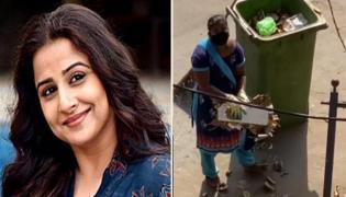 Vidya Balan Thanks Local Sweeper Who Working During Lockdown - Sakshi