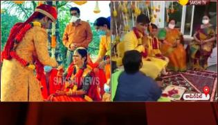 Hero Nikhil siddharth Married Pallavi At Shameerpet